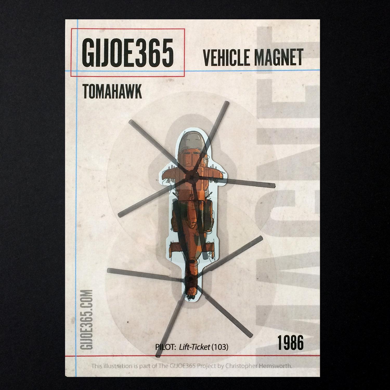 G365 MAGNET - Tomahawk