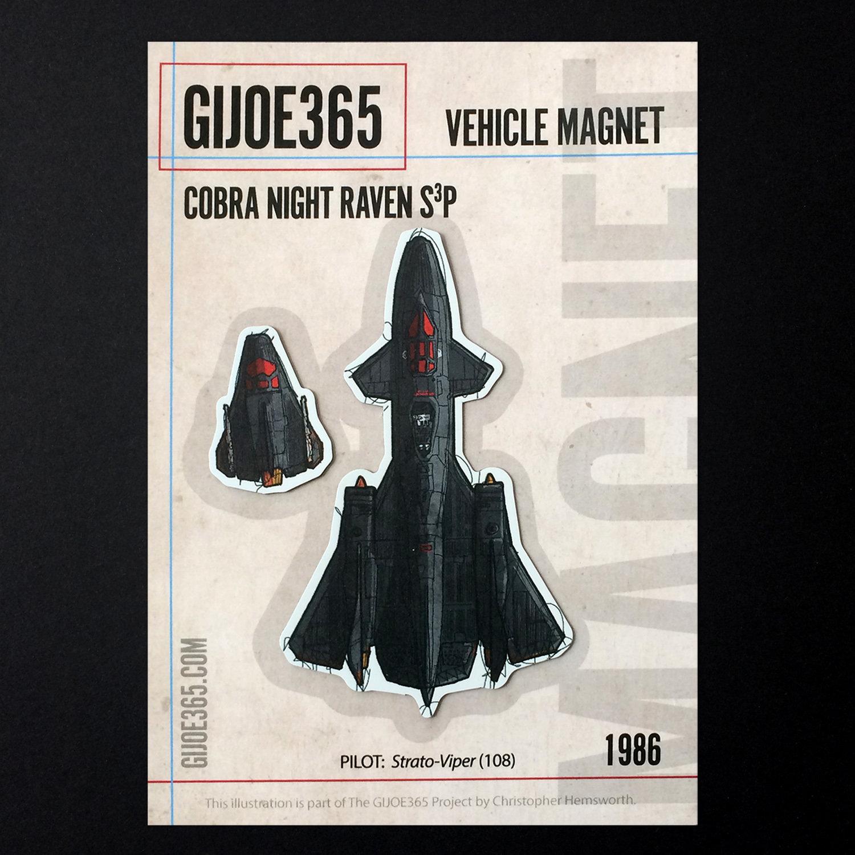 G365 MAGNET - Night Raven