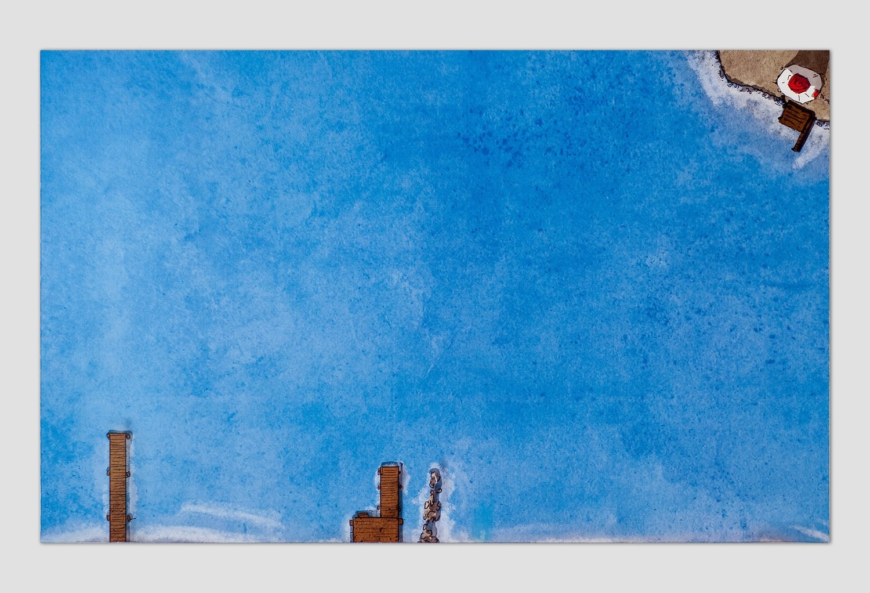 "GJIOE365 Magnet Background 01 - ""Sea 01"""