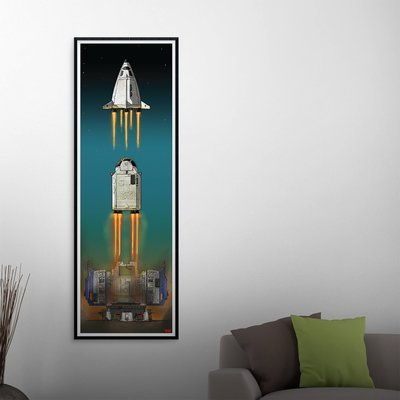 """Defiant Launch (full)"" Poster"