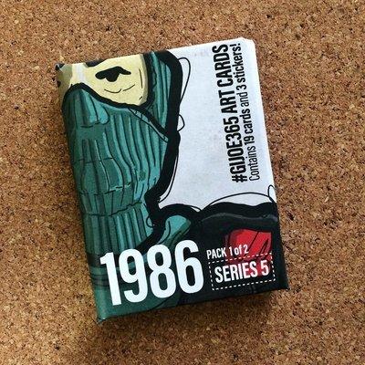GJIOE365 1986 part 1 Card Pack