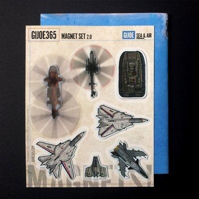 GIJOE Sea/Air Magnet Set