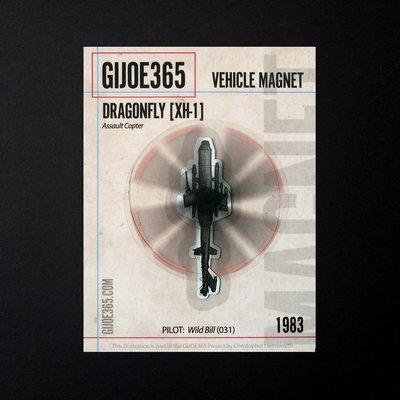 G365 MAGNET - Dragonfly (spinning)