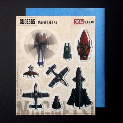 GIJOE365 Cobra Sea/Air Magnet Set
