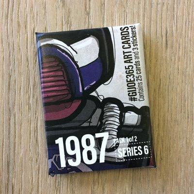 GJIOE365 1987 part 1 Card Pack