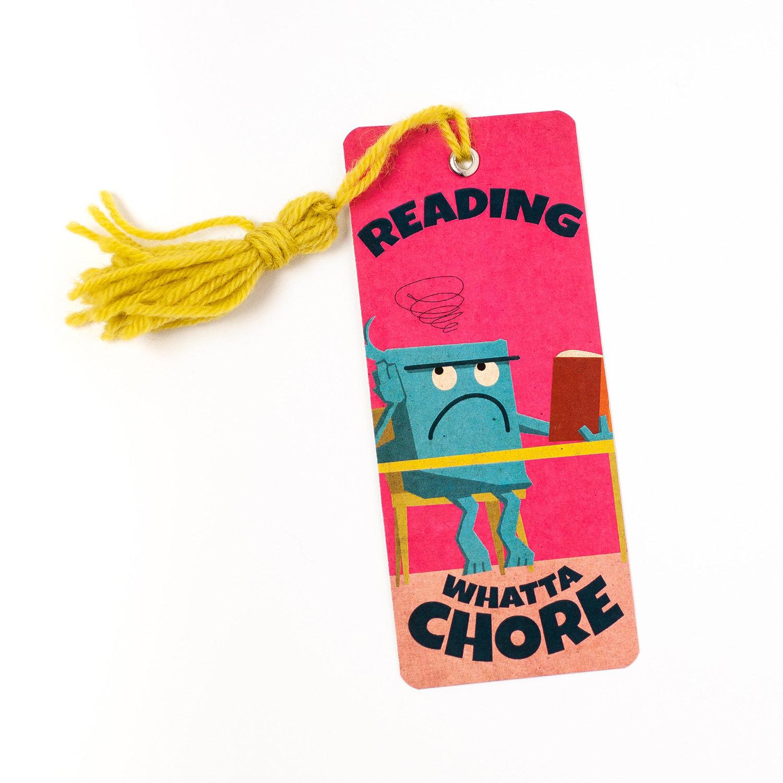 """Monster Bookmarks 05: """"CHORE"""""""