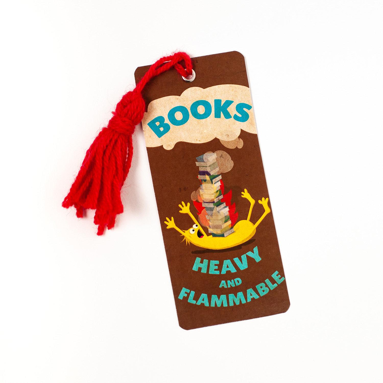 """Monster Bookmarks 02: """"HEAVY"""""""