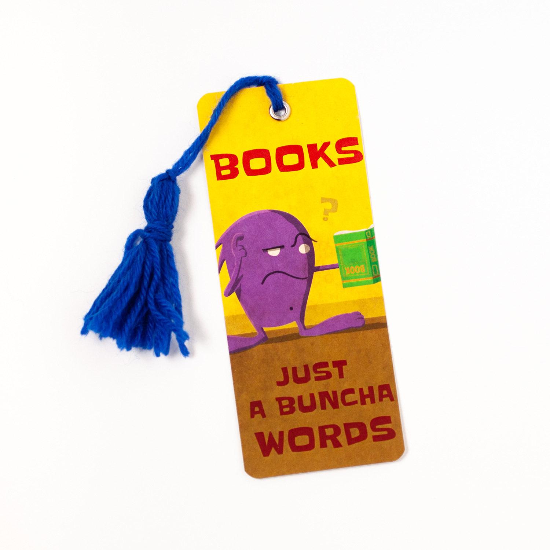 "Monster Bookmarks 03: ""WORDS"""