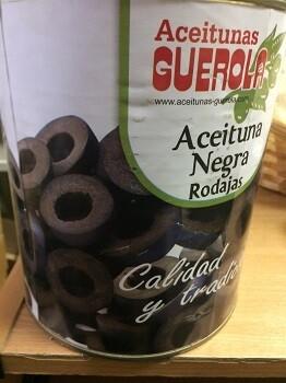 Маслины резанные, 3 кг, Испания