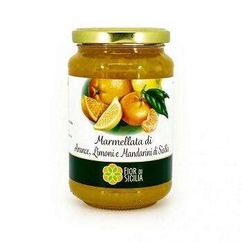 Джем из сицилийских апельсинов, FIOR DI SICILIA, 0,430 кг