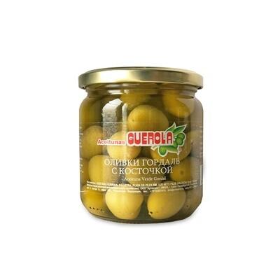 Оливки сорта Гордаль (Испания), 340 гр БЕЗ КОНСЕРВАНТОВ