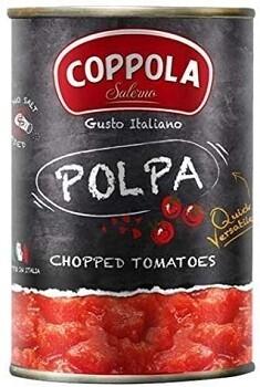 томаты в собственном соку резанные БЕЗ СОЛИ, 400 г