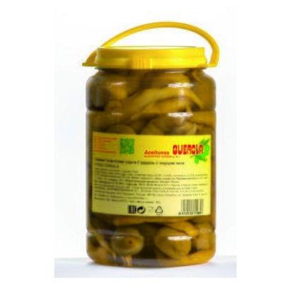 Оливки Гордаль с перцем Чили, 1,45 кг