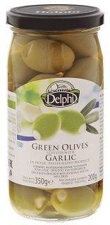 Оливки DELPHI, фаршированные чесноком