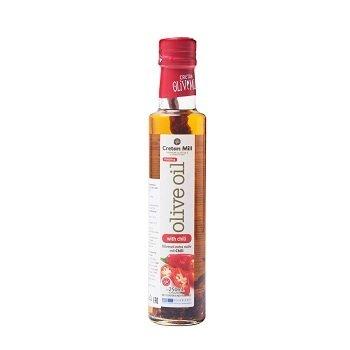 Оливковое масло Extra Virgin с перцем Чили (Крит), 250 мл