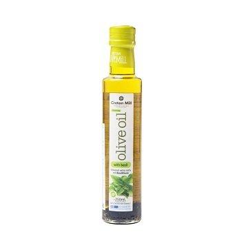 Оливковое масло Extra Virgin с базиликом (Крит), 250 мл