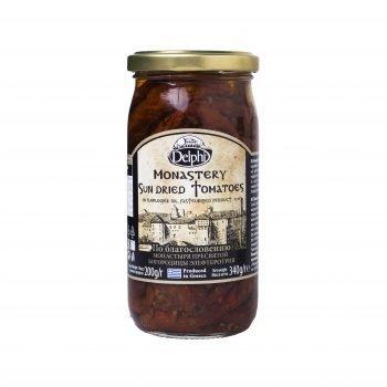 томаты вяленые Монастырские в масле (Греция), 340 г