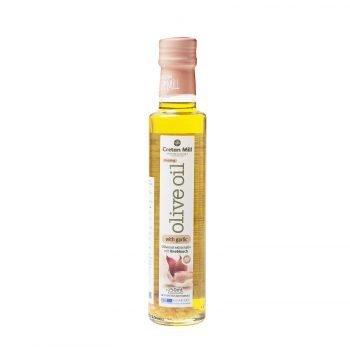 Оливковое масло Extra Virgin с чесноком (Крит), 250 мл
