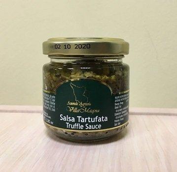 Соус трюфельный Тартуфата Villa Magna с черным трюфелем (7%) (Тоскана), 80 g