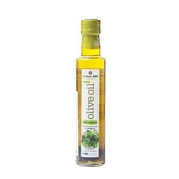 Оливковое масло Extra Virgin с орегано (Крит), 250 мл