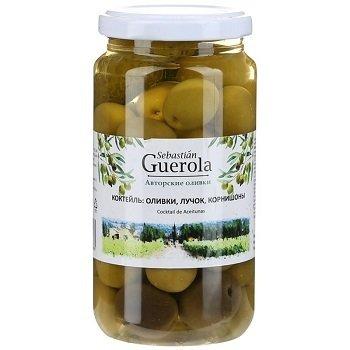 Коктейль: оливки, корнишоны, лучок, 370 г