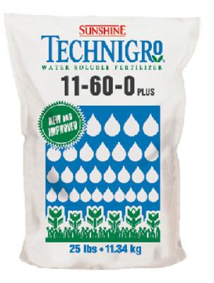 Fertilizante Soluble Technigro 11-60-0 11.36 Kg