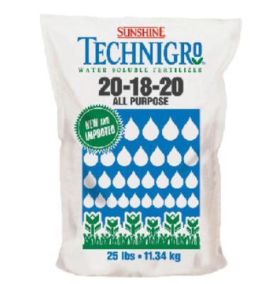 Fertilizante Soluble Technigro 20-18-20 11.36 kg