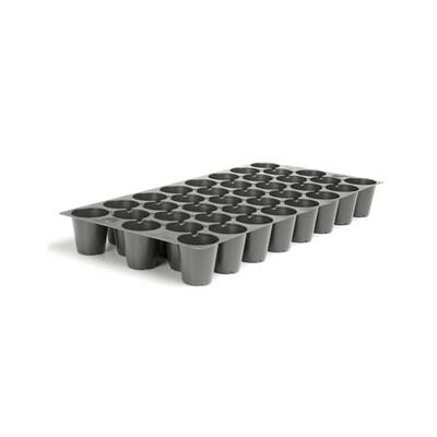 Charola Flexible 38 cavidades 100/caja