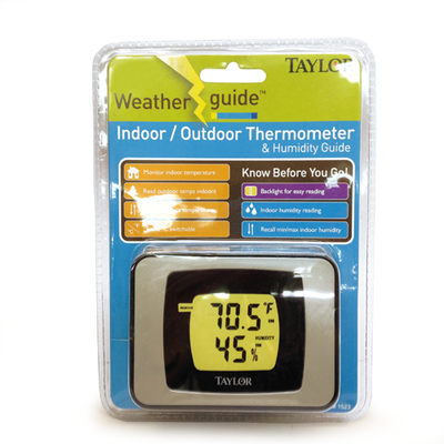 Termometro Max/Min y Humedad