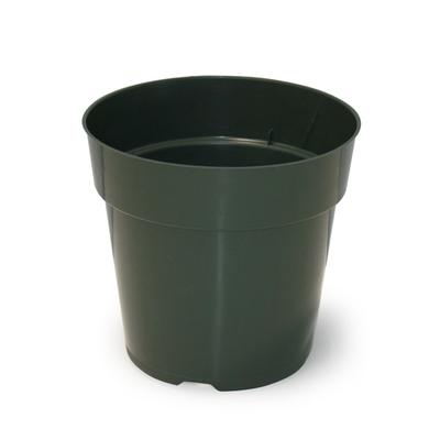 """Maceta Azalea 7"""" Verde 250/caja"""
