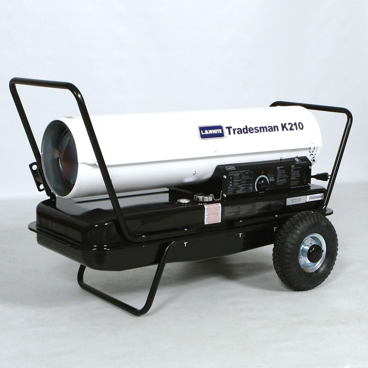 Calentador L.B. White Tradesman K210 Diesel