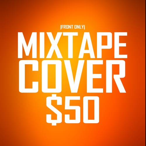 1 Sided Mixtape Cover Design