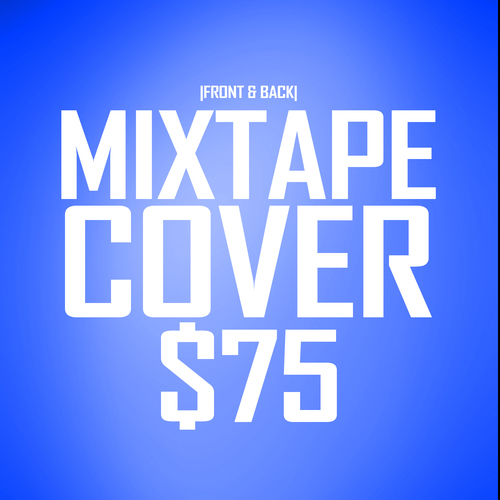 2 Sided Mixtape Cover Design