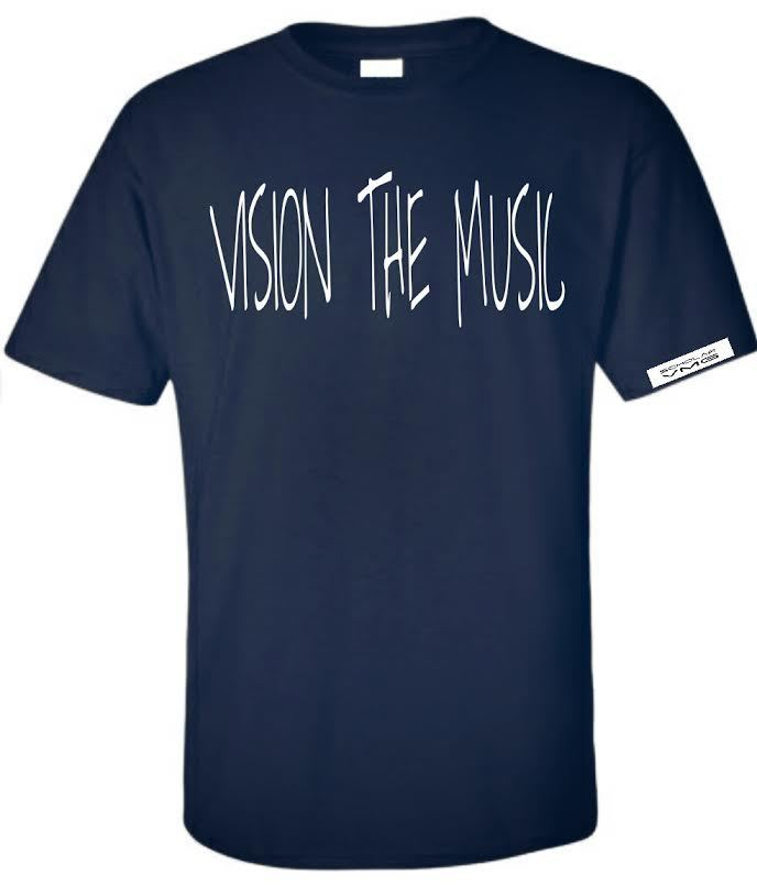 Vision The Music Graphic Tee Black
