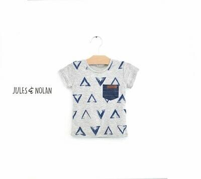 VENTE FINALE - T-shirt - Triangles