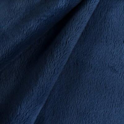 Tissu au mètre - Minky bleu