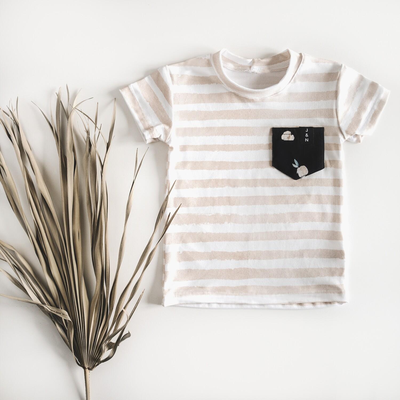 T-shirt garçons - Pêches