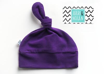 VENTE FINALE - Tuque à noeud - Violet
