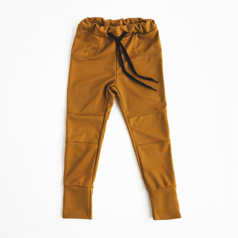 Pantalon évolutif - Ocre