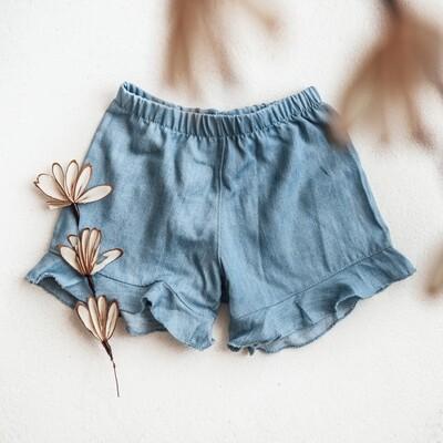 Short/Jupe pour filles - Denim