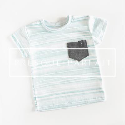 VENTE FINALE - T-shirt garçons - Pêches
