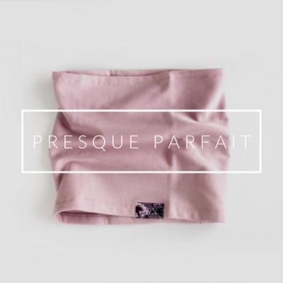 VENTE FINALE -Cache-cou NON DOUBLÉ (AUTOMNE) - Rose