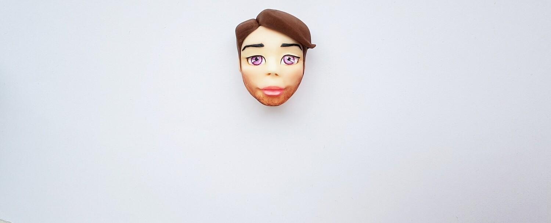 New Man Face