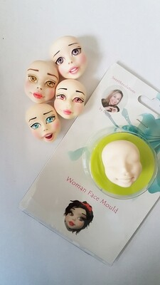 NEW Woman Face Mould