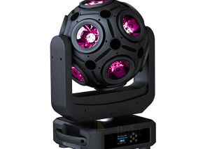 RedRock Fibbernace: Rotating Ball QUAD CREE LED 200W