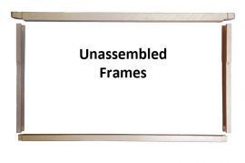 Frame Shallow Grooved - case of 100