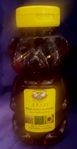 Sassy Honey 12oz Bear