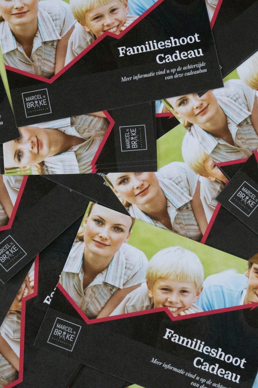 Tegoedbon voor een Familieshoot meer dan 7 personen op locatie