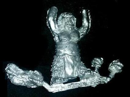 Morlock Foot Soldier No. 2 (Shaking Fists or Throwing Big Rock)