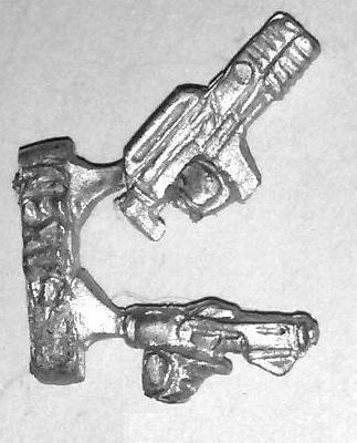 Caprican Legion Weapon Sprue (Pistol & Rifle)